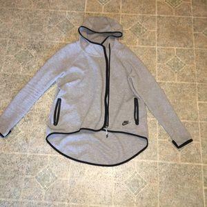 Fleece Tech Zip Up Nike Jacket with Hoods